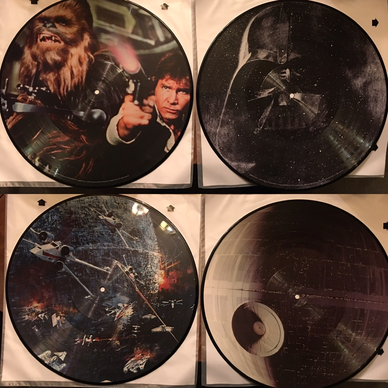 Star Wars picture vinyl