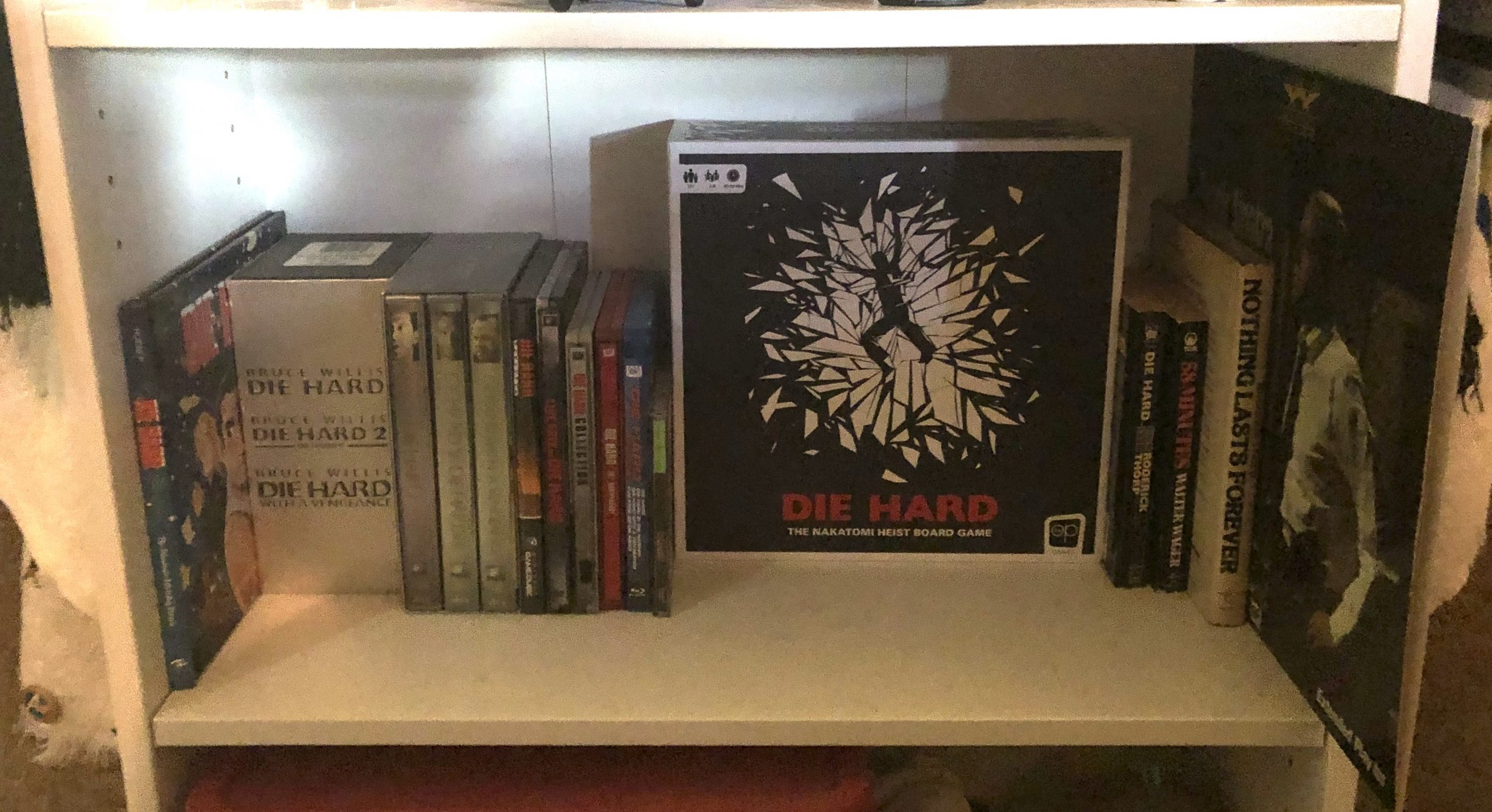 Die Hard Shelf