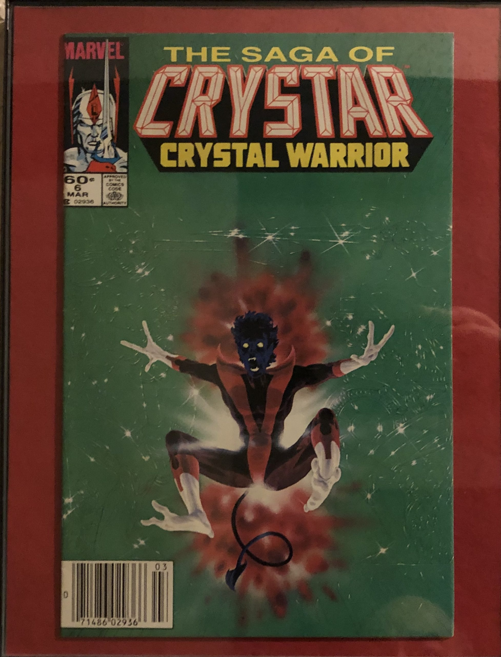 The Saga of Crystar Crystal Warrior 6 Michael Golden