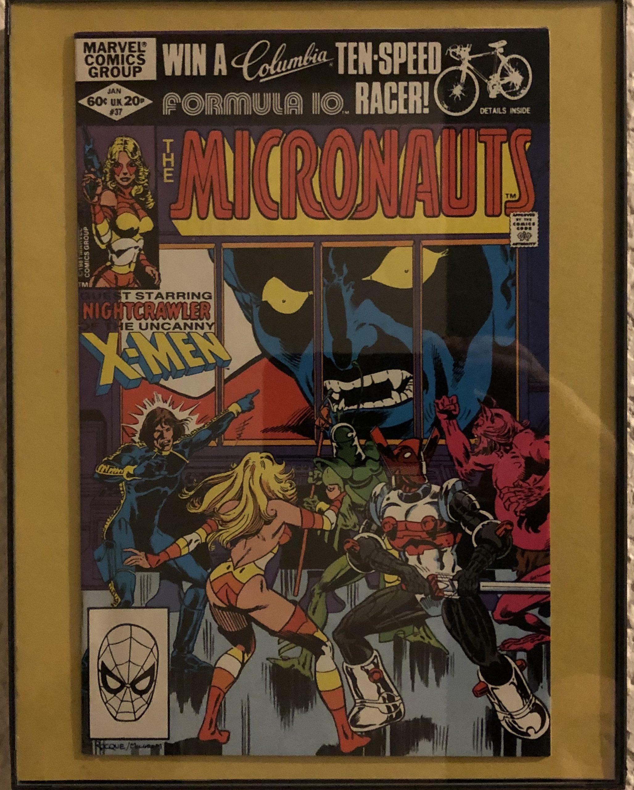 Micronauts 37 (Greg_LaRocque/Al Milgrom)