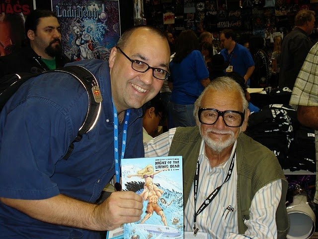 George Romero and Clay